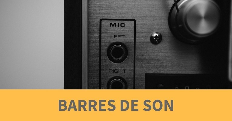 Comparatif barres de son
