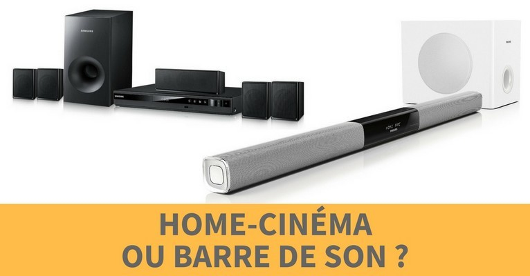 Choix home cinema